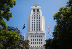 Los Angeles City Hall. Photo by John Schreiber.
