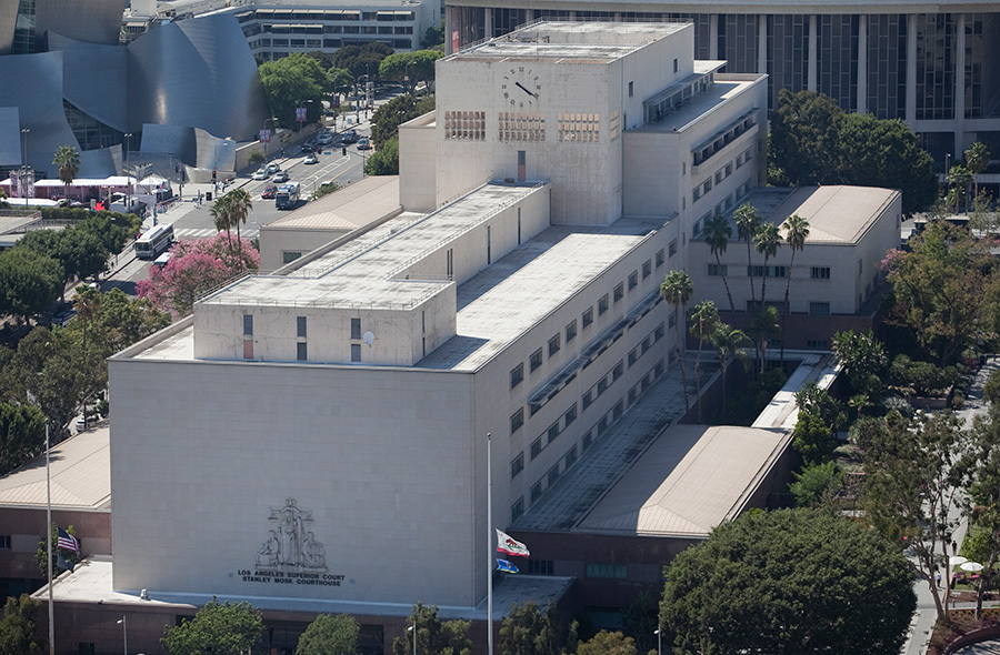 Los Angeles County Superior Court. Photo by John Schreiber.