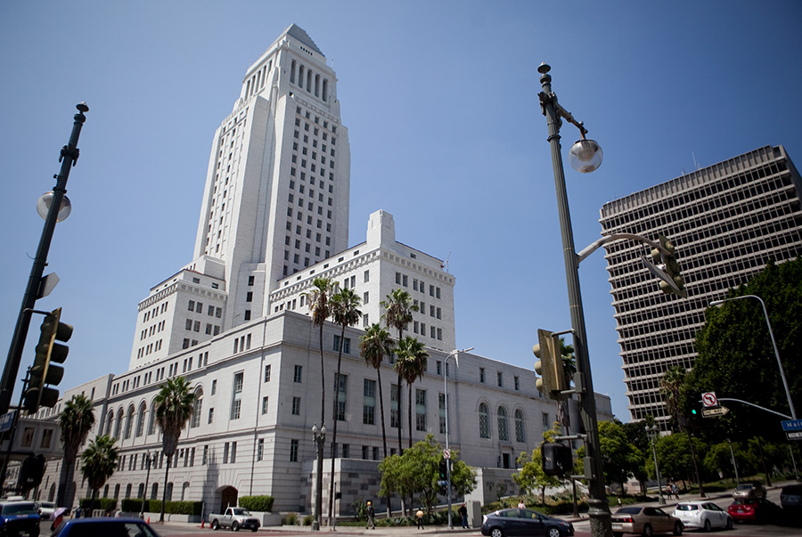 View of City Hall. Photo by John Schreiber.