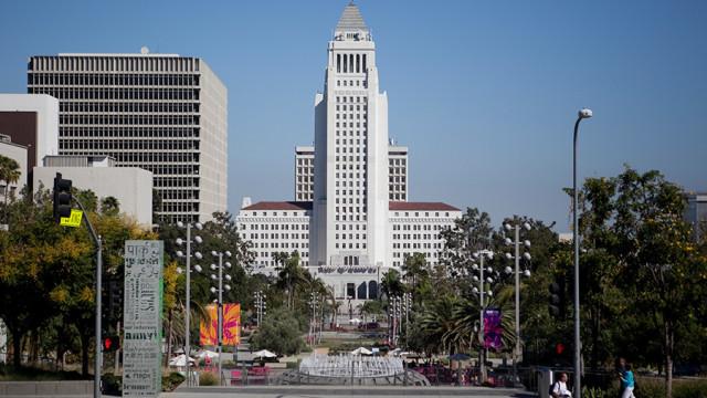 LA City Hall. Photo by John Schreiber.