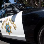 A California Highway Patrol Vehicle.