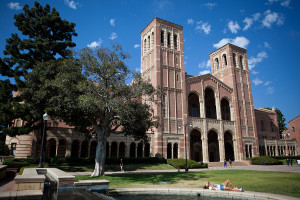 Royce Hall on the campus of UCLA in Los Angeles. Photo by John Schreiber.