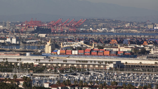 Port of Los Angeles. Photo by John Schreiber.