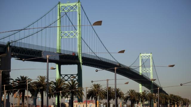 The Vincent Thomas Bridge. Photo by John Schreiber.