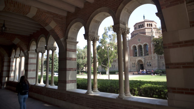 A view of the UCLA campus. Photo by John Schreiber.