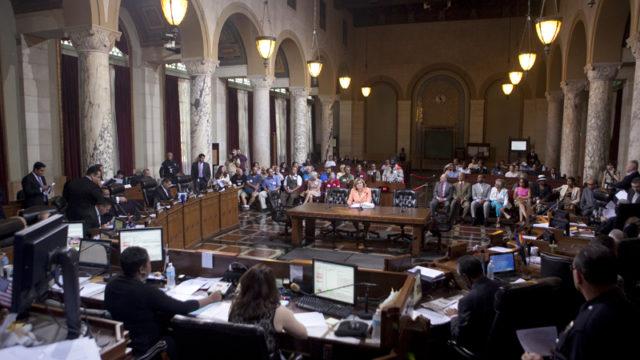 the la city council