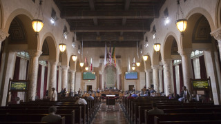 the la city council chamber