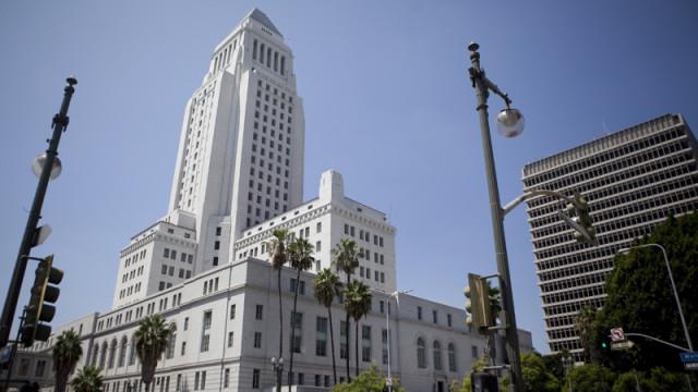 Los Angeles City Hall. Photo by John Schreiber.