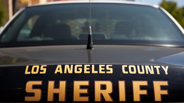 los angeles county sheriff's department car