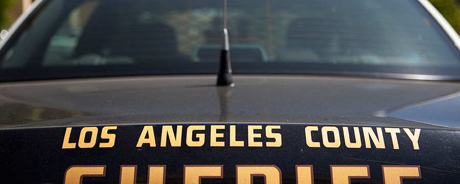 Los Angeles County Sheriff's Department Car. Photo by John Schreiber.