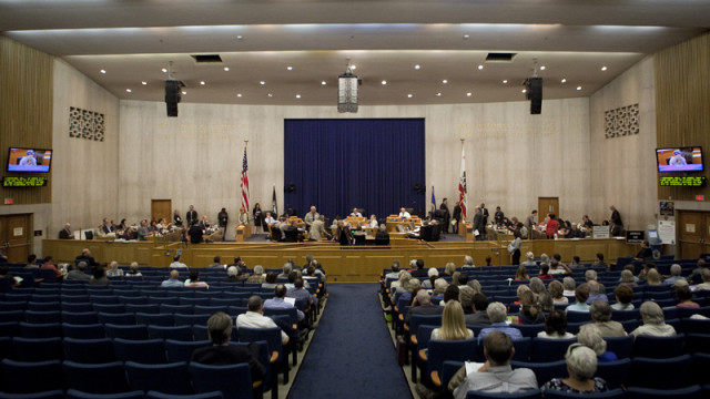 LA County Board of Supervisors could have a majority of women. MyNewsLA.com Photo by John Schreiber.