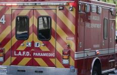LAFD paramedics truck. Photo by John Schreiber.