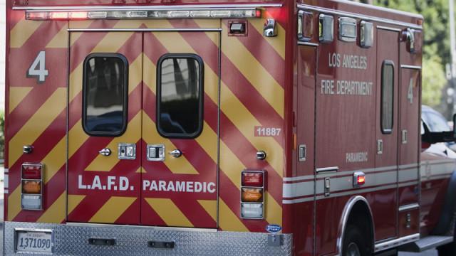 LAFD paramedics truck