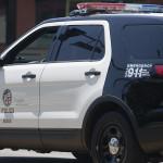 LAPD cruiser