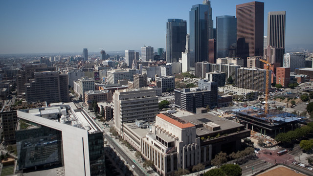 Downtown Los Angeles. Photo by John Schreiber.