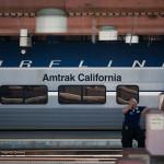 Amtrak California Surfliner train. Photo by John Schreiber.