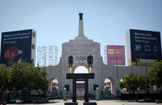 The Los Angeles Memorial Coliseum. Photo by John Schreiber.