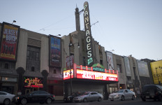the Pantages Theater in Hollywood
