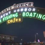 Santa Monica pier. MyNewsLA.com photo by John Schreiber.