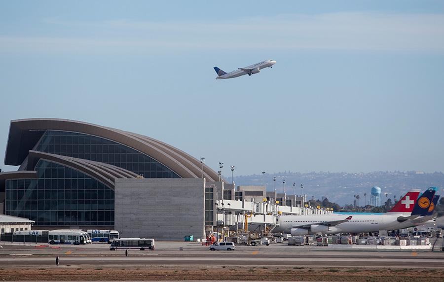 Los Angeles International Airport. Photo by John Schreiber.