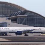 Delta Airliner At LAX