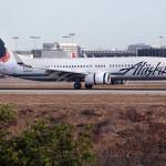 Alaska Airlines jetliner