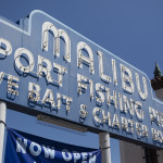 The Malibu Pier sign. Photo by John Schreiber.