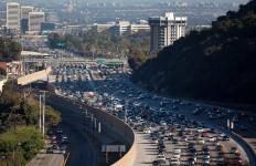 Jammed San Diego (405) Freeway