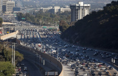 405 freeway traffic. Photo by John Schreiber.