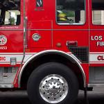 los angeles fire truck