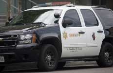 A Los Angeles County Sheriff's Department cruiser.