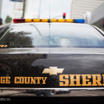 Orange County Sheriff's cruiser