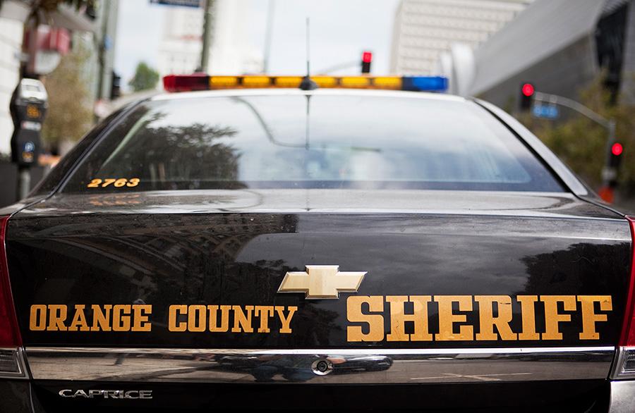 Orange County Sheriff's Department cruiser. Photo by John Schreiber.