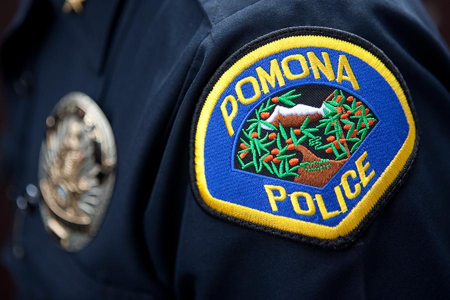 Pomona Police Department. Photo by John Schreiber.