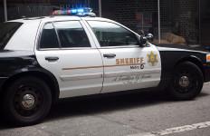 Los Angeles Sheriff's Department LASD Metro Police Car