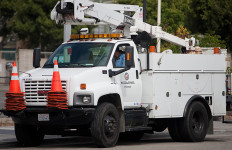 Department of Water and Power LADWP Truck