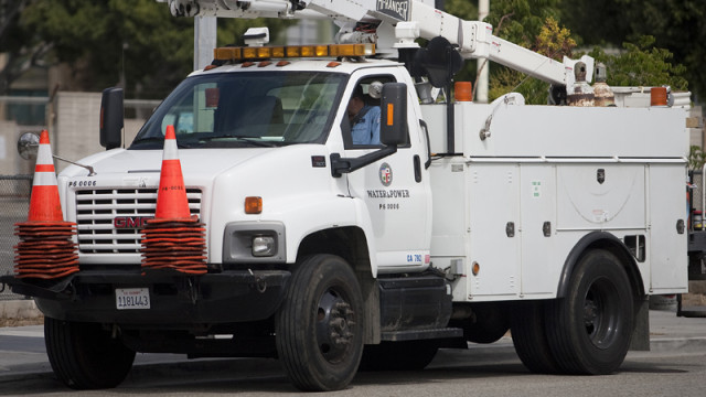 [16:9 Featured] Department of Water and Power LADWP Truck