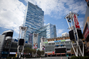 The Nokia Theater will play host to the Grammy Awards. Photo by John Schreiber.