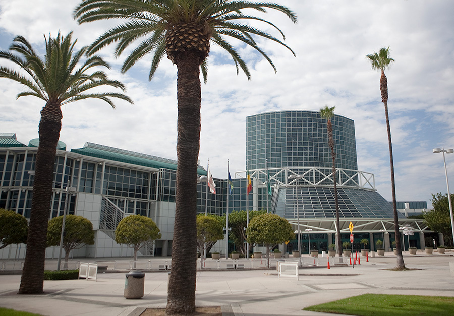 The Los Angeles Convention Center. Photo by John Schreiber.