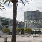 Exterior view of the Los Angeles Convention Center.