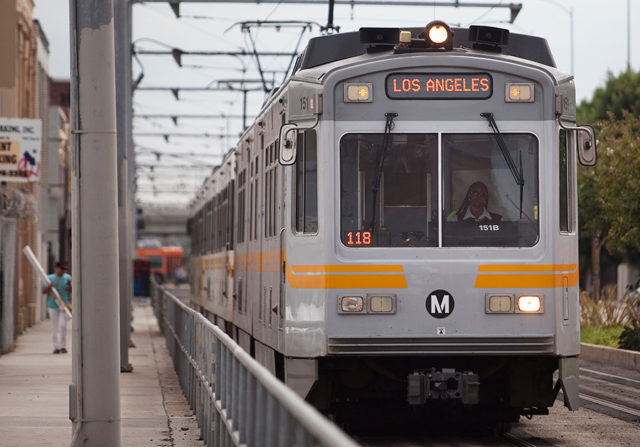 File photo of the Metro Blue Line. Photo by John Schreiber.