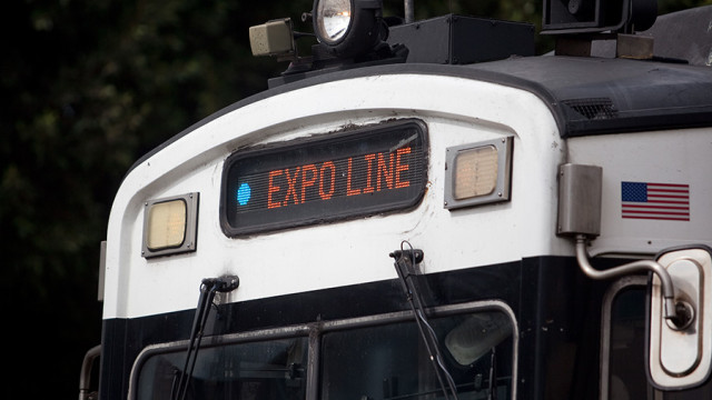 Metro Expo Line Train