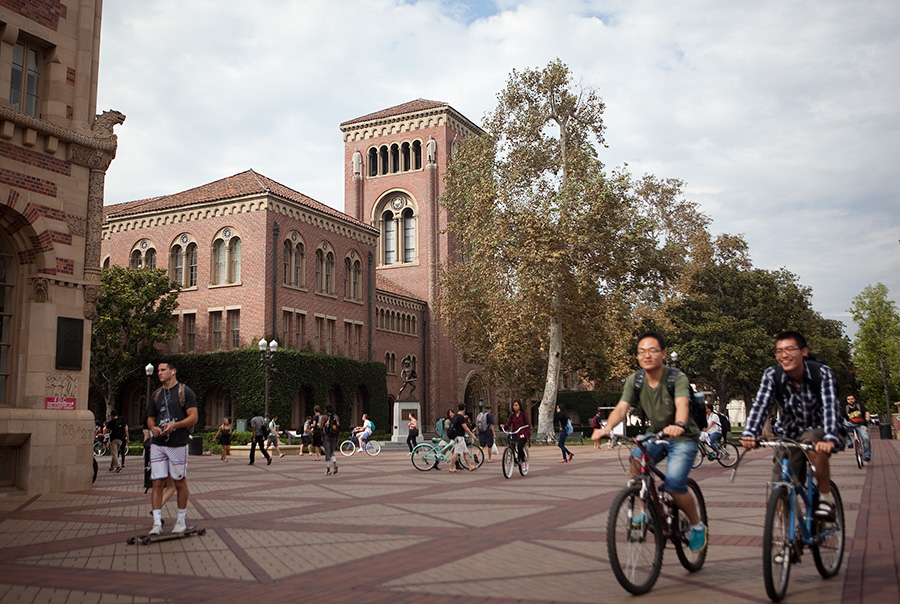 USC Campus. Photo by John Schreiber.