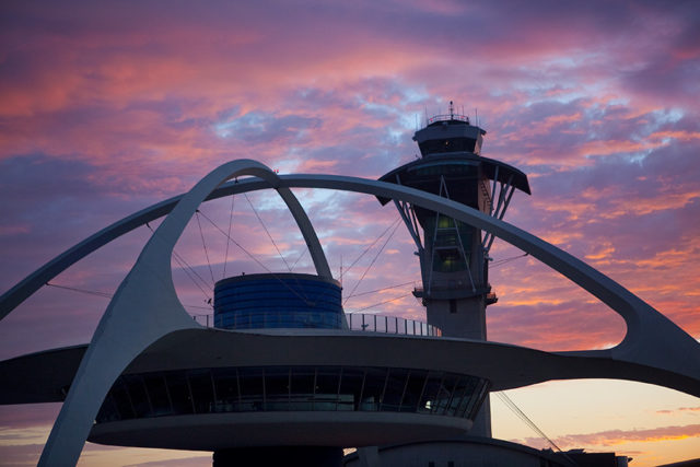 LAX Airport Tower and Theme Building