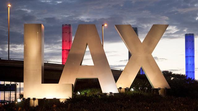 LAX Sign. Photo by John Schreiber.