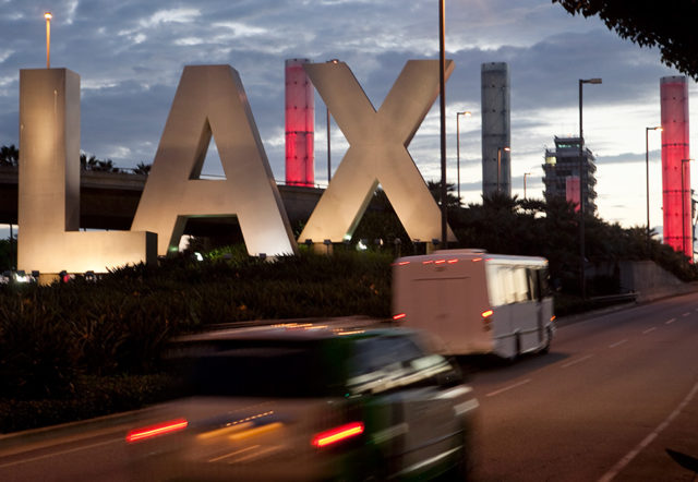 lax sign and columns
