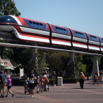 The Disneyland Monorail. Photo by John Schreiber.