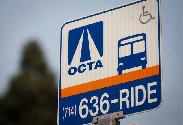 orange county transportation sign