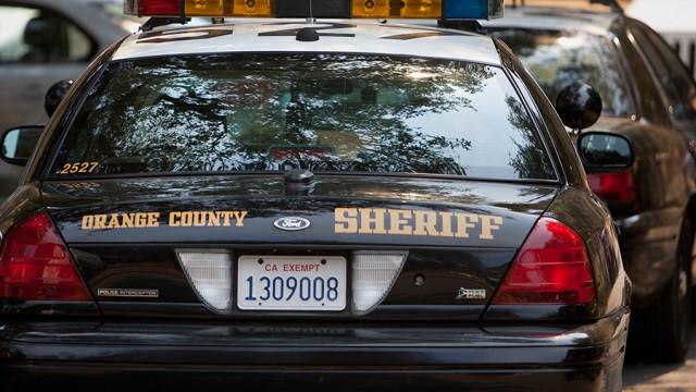 Orange County Sheriff's Department cruisers. Photo by John Schreiber.
