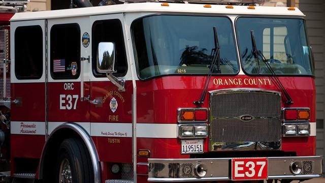 Orange county fire authority truck
